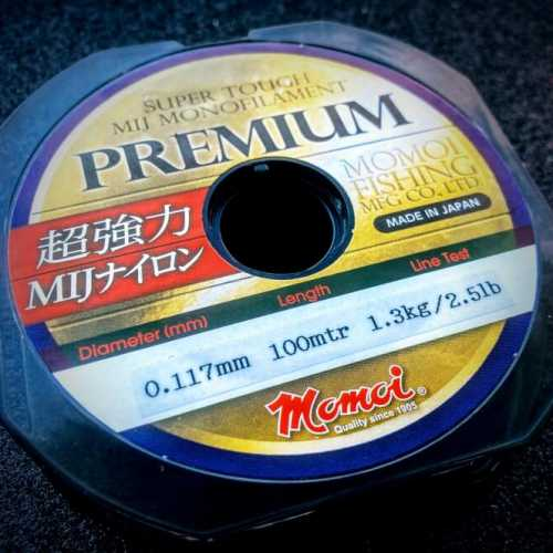 momoi premium zylka ultralight fishing line made in japan
