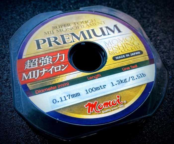 momoi premium zylka ultralight fishing line made in japan