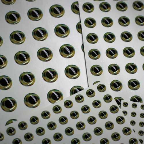 zielone oczy 3d fishchaser lure eyes
